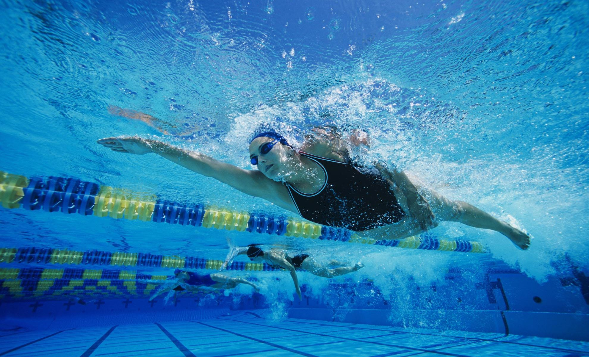 nageuse de crawl